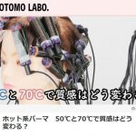 """<span class=""""entry-title-primary"""">ホット系パーマ 50℃と70℃で質感はどう変わる?</span> <br><span class=""""entry-subtitle"""">TOMOTOMO LABO.</span>"""